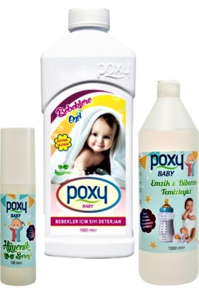 Poxy Bebek Bakım Seti