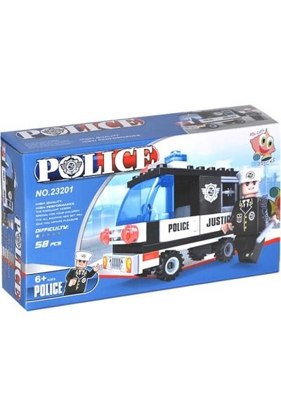 Bircan Bricks 23201 Polis Oyun Seti