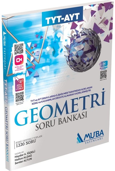 Muba Yayınları Tyt - Ayt Geometri Soru Bankası