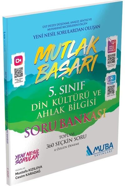 Muba Yayınları Mutlak Başarı 5.sınıf Din Kültürü ve Ahlak Bilgisi Video Çözümlü Soru Bankası