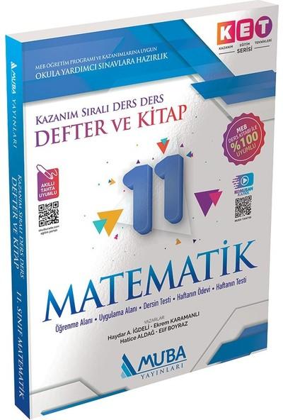 Muba Yayınları Ket Serisi 11.sınıf Matematik Defter ve Kitap Akıllı Tahta Uyumlu