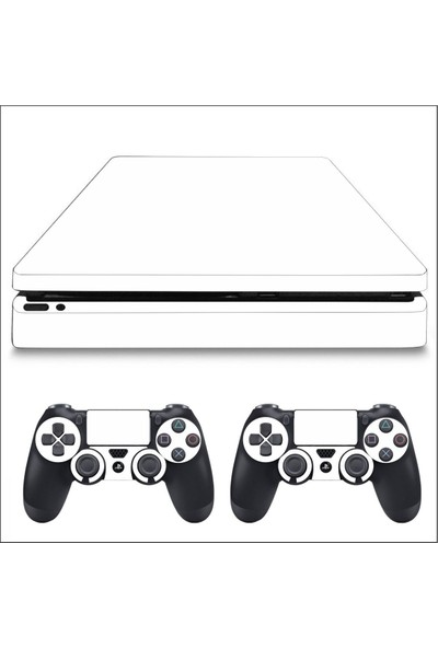 Art Point PS4 Slim Mat Beyaz Kaplama Skin Cover Sticker