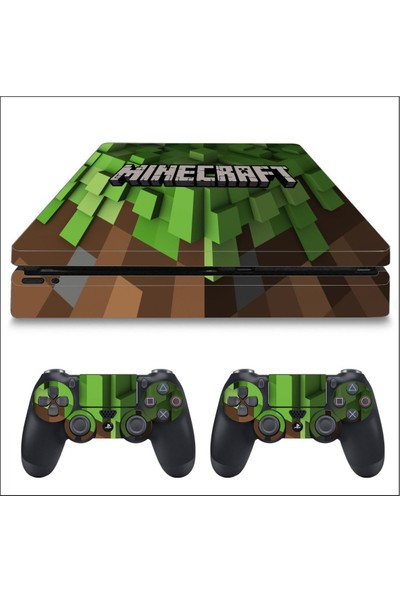 Art Point PS4 Slim Minecraft Kaplama Skin Cover Sticker