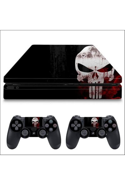 Art Point PS4 Slim Punisher Kaplama Skin Cover Sticker