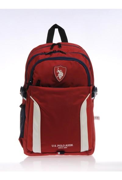 U.S. Polo Assn. Erkek Çocuk Okul Ve Sırt Çantası Plçan9201 Bordo