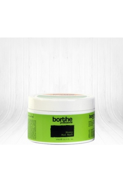 Borthe Professional Mossy Mud Mask Kil Maskesi 500ml