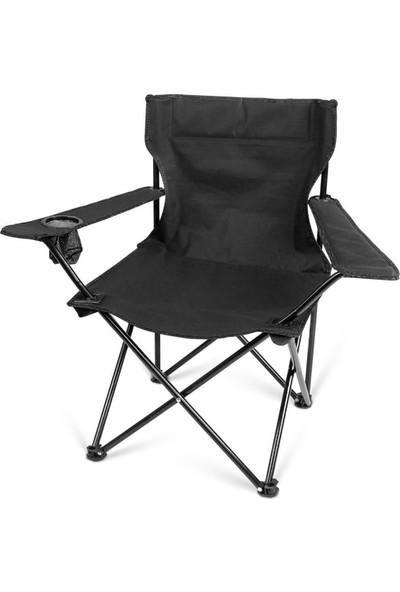 Bidesenal 120 kg Katlanır Taşıma Çantalı Kamp Sandalyesi