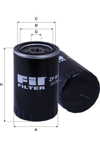 Fil Filter Mitsubishi Pajero Iı-Iıı-Iv 2.8Td-3.2D-3.2Di (1998-2007) Yağ Filtresi-Me215002-Me013343-Wp1045-Oc297-Op636