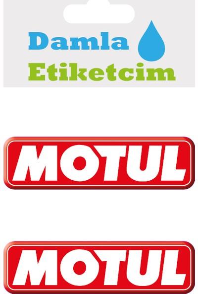 Damla Etiketcim Motul 3D Sticker