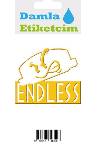 Damla Etiketcim Endless 3D Sticker