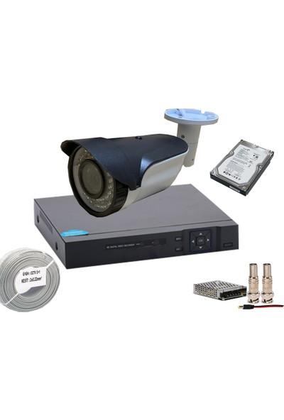 Promise 1 Kameralı Set 3 Mp 1080p Ahd Harddisk Dahil Paket