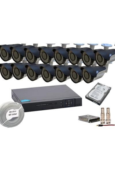 Promise 15 Li Set Gece Görüşlü Harddisk Dahil 3 Mp 1080P Ahd Faturalı Garantili