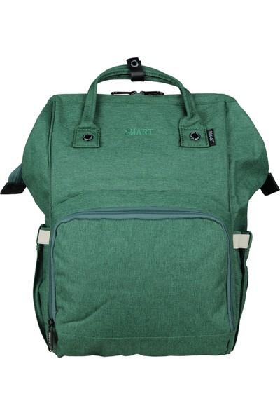 Smart Bags Anne-Bebek Bakım Sırt Çantası Smbgs2005-0028 A.Yeşil