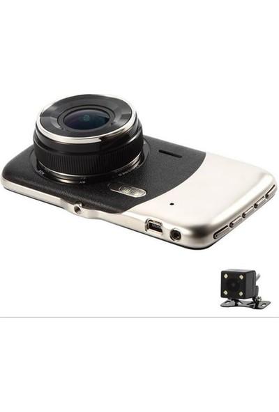 Gece Görüşlü Full Hd Araç Içi Kamera Park Sensörü 4 Inç 1080P