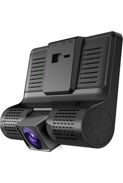 Üçlü Araç Içi Geri Görüşlü Kamera Kayıt Sistemi