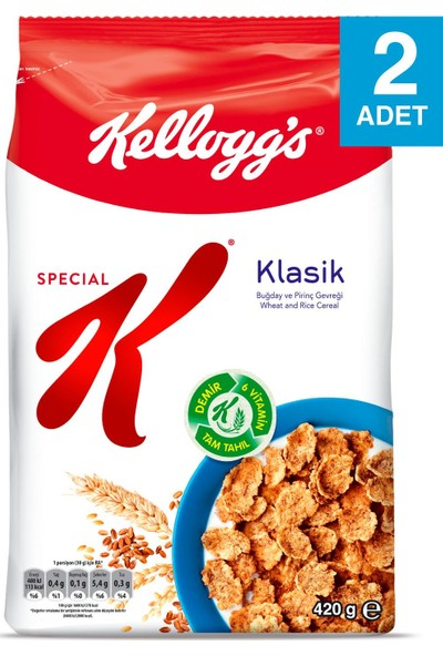 Kellogg's Special K Sade 420 gr 2 Adet