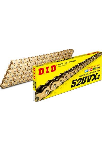 DID Nc 750 S Dct 14-17 Yıııarı 520 114 Bakla Gold X-Ring Dıd Zincir