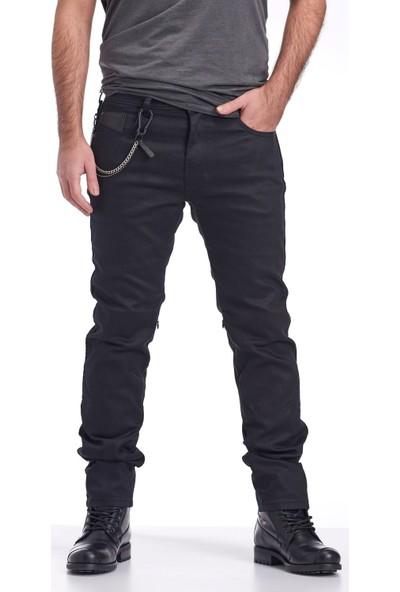 NY01 Black Kaplamalı Motorsiklet Pantolonu 32/31