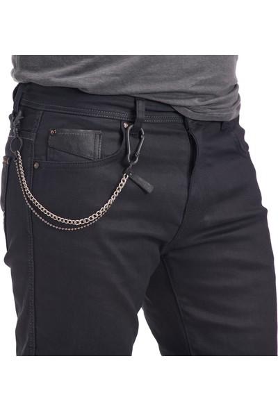 NY01 Black Kaplamalı Motorsiklet Pantolonu 30/31