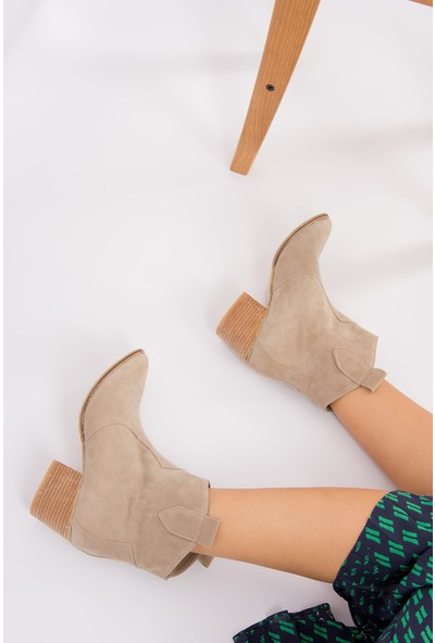 Fox Shoes Bej Kadın Bot G380190602