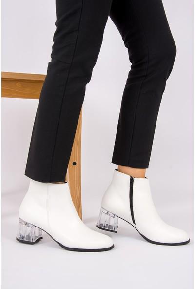 Fox Shoes Beyaz Kadın Bot G494980009