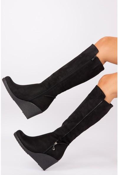 Fox Shoes Siyah Kadın Çizme E674220202