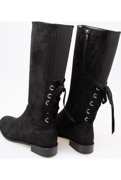 Fox Shoes Siyah Kadın Çizme G654013602