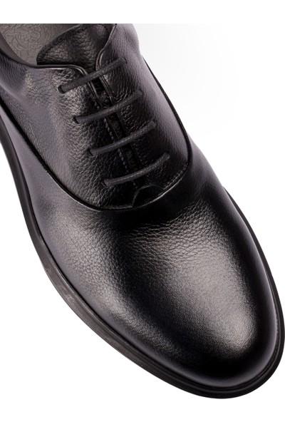 Deery Deri Siyah Günlük Erkek Ayakkabı