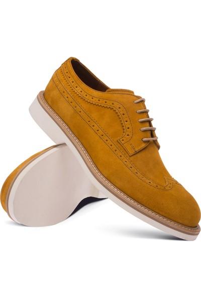 Deery Süet Sarı Günlük Erkek Ayakkabı