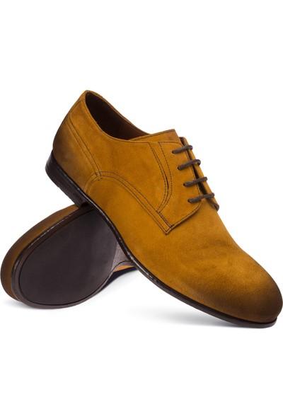 Deery Süet Hardal Rengi Günlük Erkek Ayakkabı