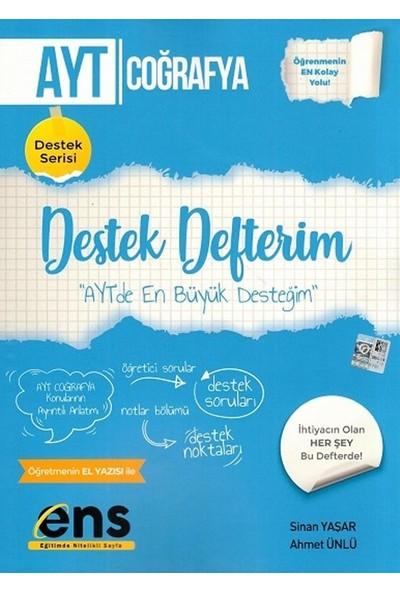 Ens Yayıncılık Ayt Coğrafya Destek Defterim - Sinan Yaşar