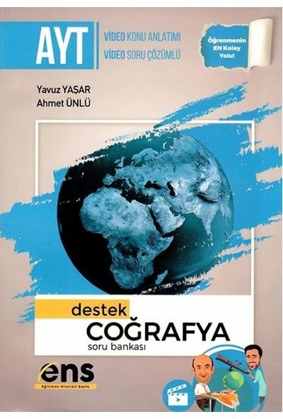 Ens Yayıncılık Ayt Coğrafya Destek Soru Bankası - Yavuz Yaşar