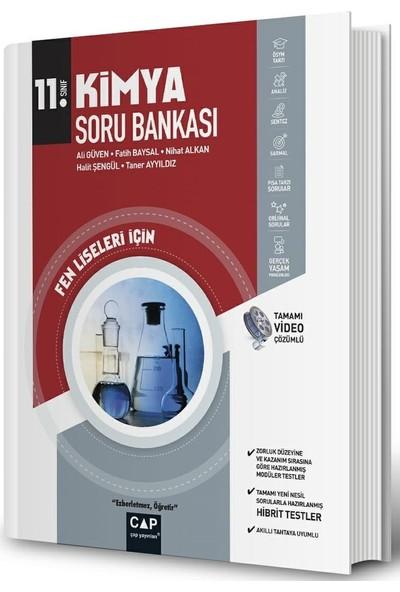 Çap Yayınları 11. Sınıf Fen Lisesi Kimya Soru Bankası - Ali Güven