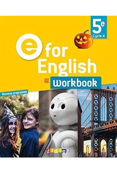 E For English 5e Workbook