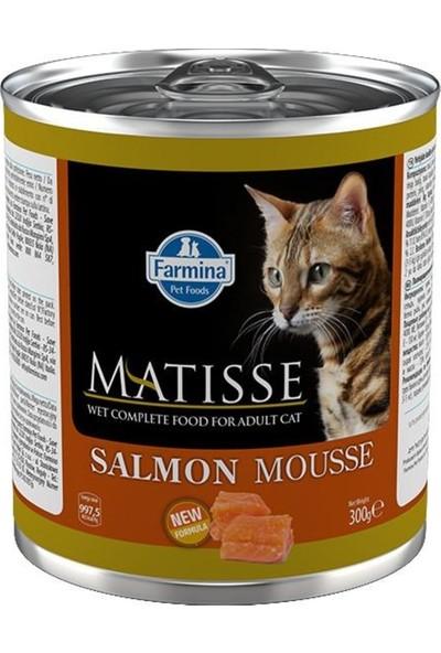 Matisse Salmon Mousse Somonlu Yetişkin Kedi Konservesi 300 G
