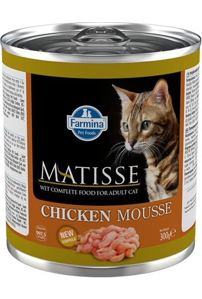 Matisse Chicken Mausse Kedi Konservesi 300G