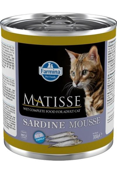 Matisse Cat Mousse Sardalyalı Yetişkin Kedi Konservesi 300 G