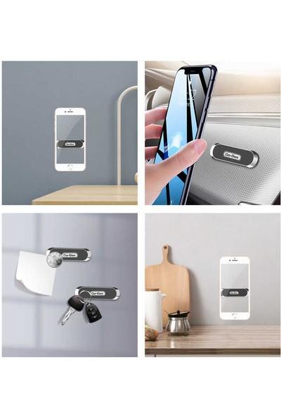 Go-Des Universal Araç Içi Mıknatıslı Telefon Tutucu Gögüs - Torpido Yapıştırma Modeli GD-HD636