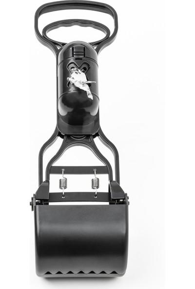 Griffonpet Dışkı Toplama Küreği, Özel Dışkı Çöp Torbası Kabı ile 30 cm