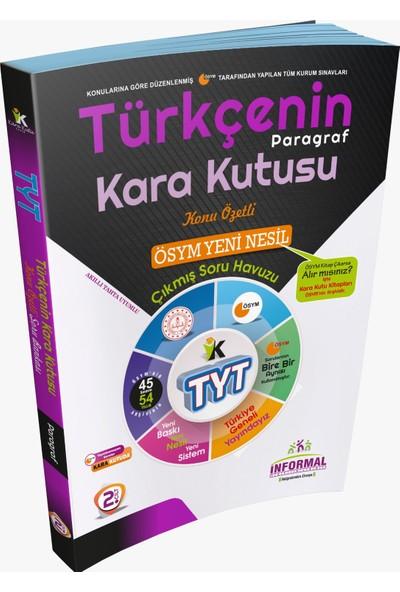 İnformal Yayınları TYT Türkçenin Paragraf Kara Kutusu