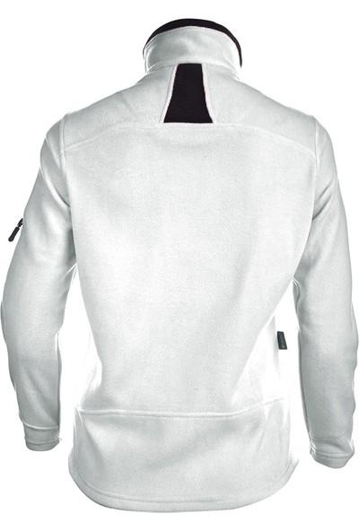 Wubec Outdoor Kadın Beyaz Polar Ceket