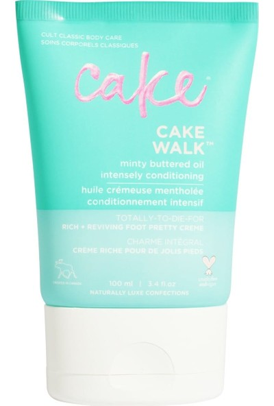 Cake Beauty Cake Walk Rich Naneli Ferahlatıcı Ayak Kremi 100 ml