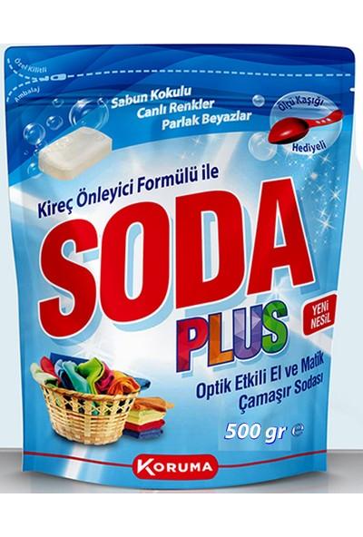 Soda Plus Optik Etkili El ve Matik Çamaşır Sodası 500 gr