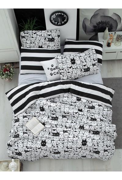 The Fabric Cats Çift Kişilik Nevresim Seti