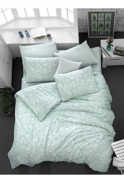 The Fabric Elegance Mint Çift Kişilik Nevresim Takımı