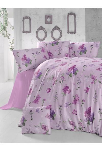 The Fabric Lilac Çift Kişilik Nevresim Seti