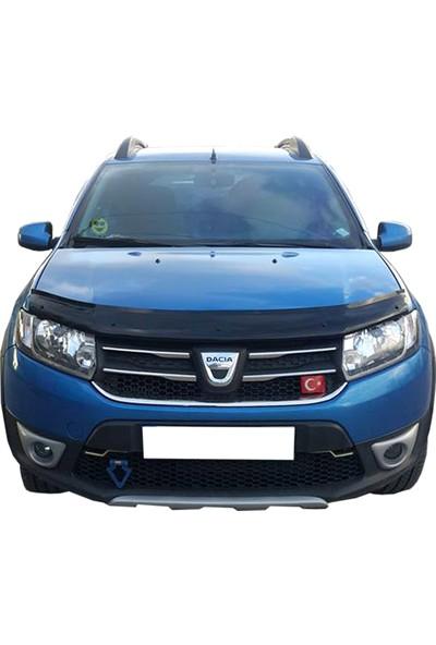 Kutuplast Dacia Sandero Stepway 2012 ve Sonrası Kaput Rüzgarlığı Koruyucu