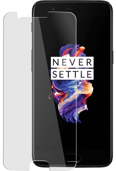 Kzn One Plus 5 Ekran Koruyucu Nano Cam Şeffaf