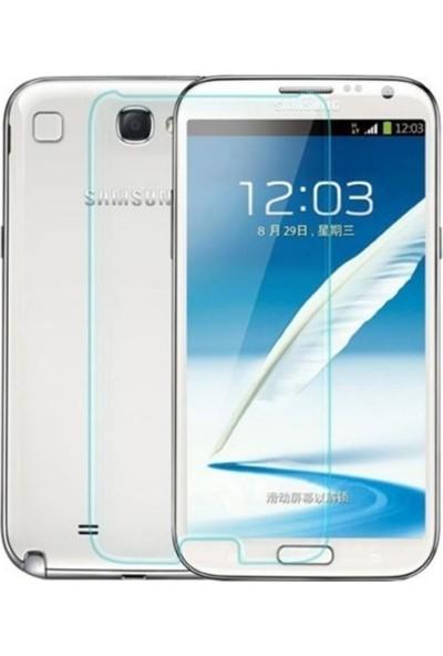 Kzn Samsung Galaxy Note 2 Ekran Koruyucu Nano Cam Şeffaf