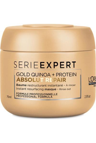 Loreal Professionnel Expert Abs Repair Gold Quinoa Protein Maske 75 ml